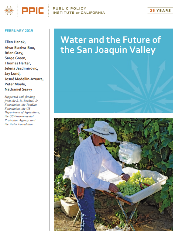 Water and the Future of the San Joaquin Valley