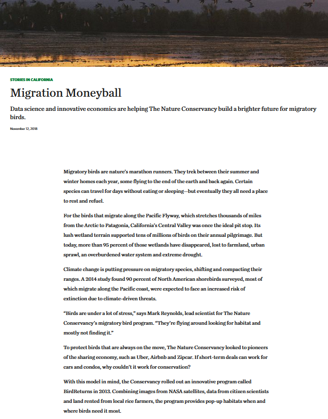 Migration Moneyball